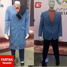 رونمایی از لباس کاروان ایران در المپیک +تصاویر