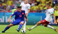 برتری قاطع کلمبیا مقابل لهستان از نگاه آمار