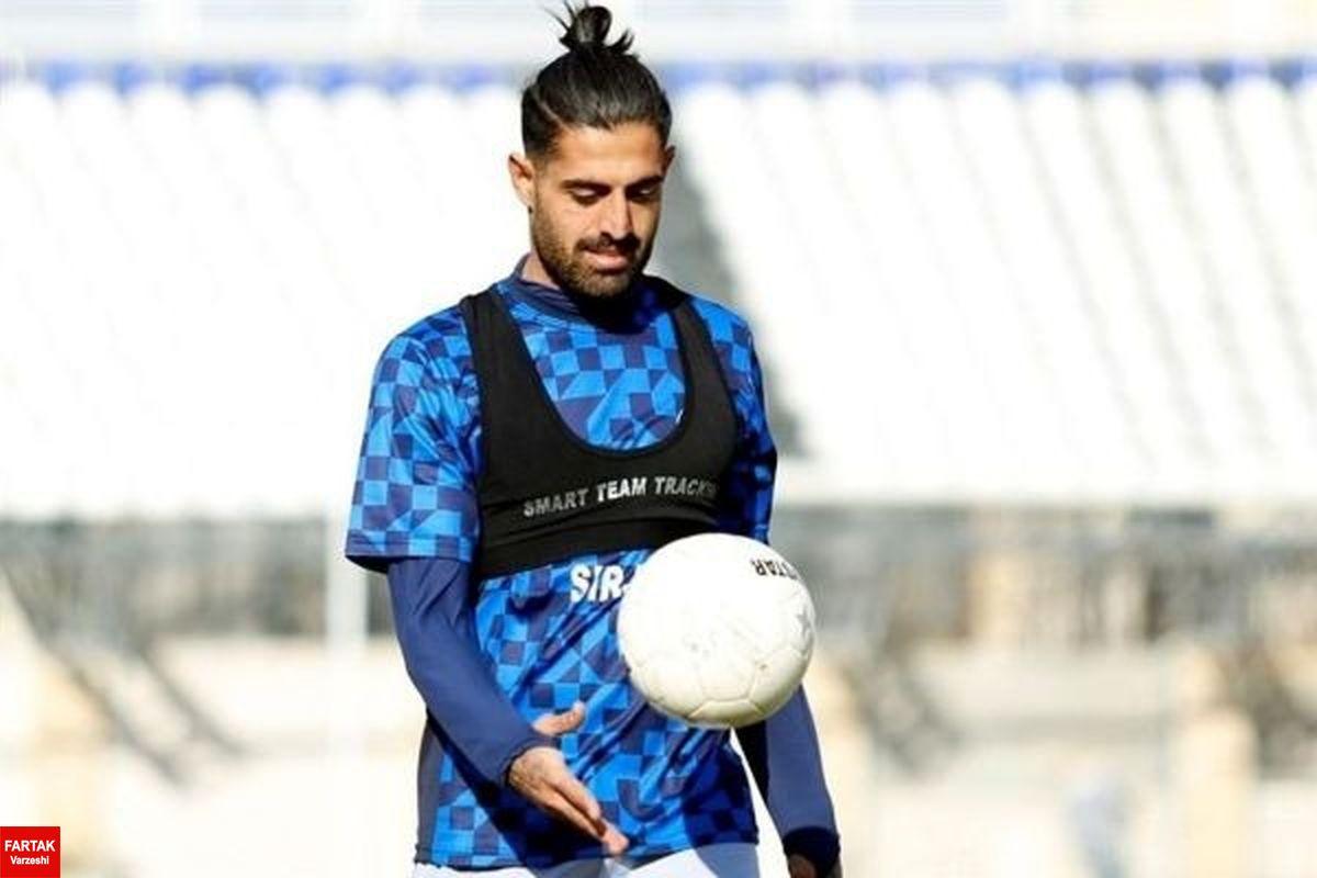 علیرضا ابراهیمی در باشگاه پرسپولیس حاضر شد
