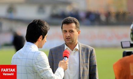 مصاحبه عجیب محمودزاده؛ میخواهیم لیگ یک با آرامش شروع شود