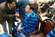 اتهاماتی بزرگ به آقای عابربانک؛ حسین هدایتی لباس آبیِ زندان را پوشید