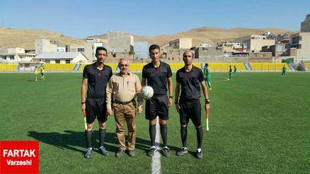 تقدیر و تشکر مربیان لیگ سه ای از داور جوان کردستانی!