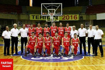 برنامه بازی های تیم ملی بسکتبال جوانان ایران درمسابقات جام جهانی زیر19سال مصر