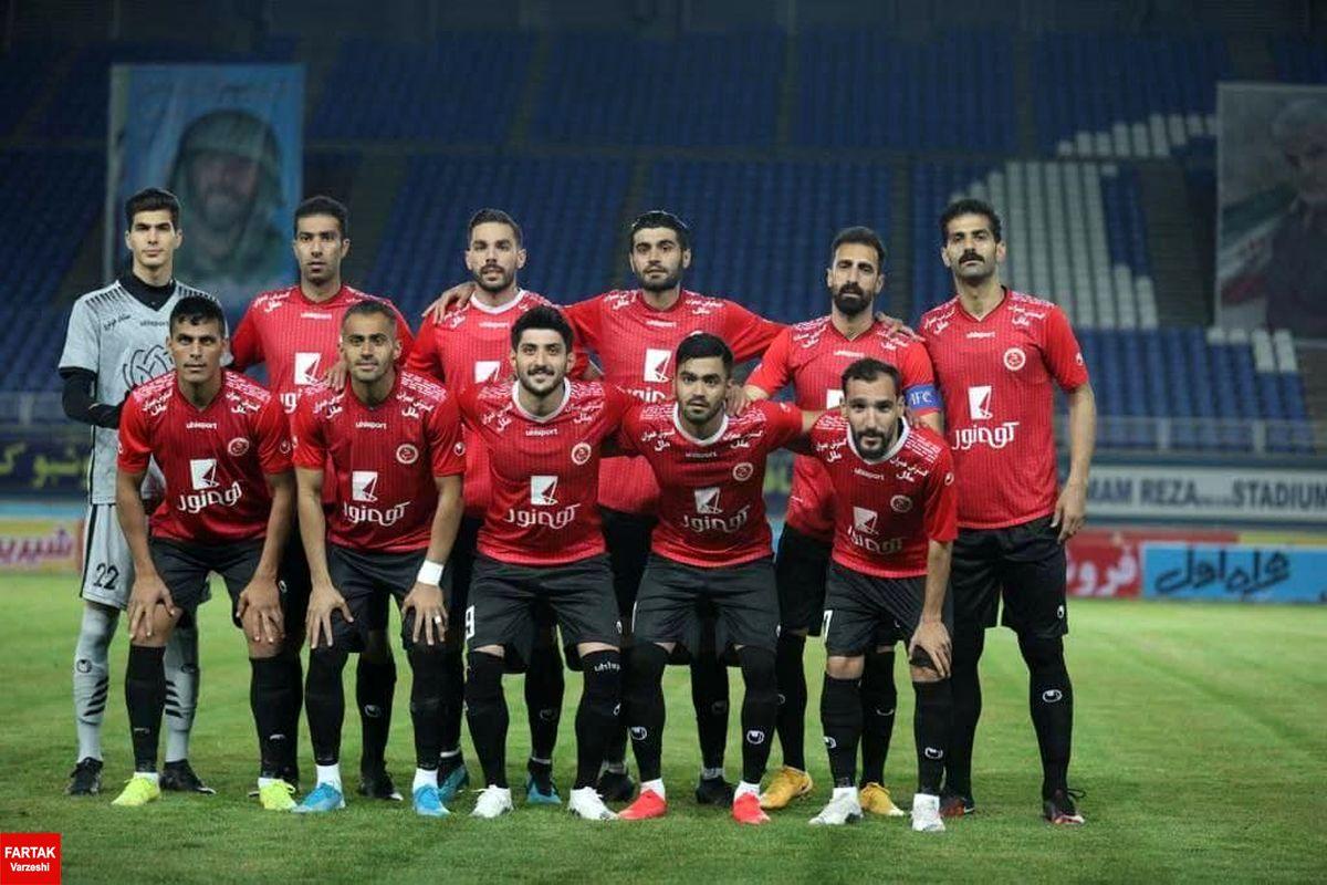 فاضلی: بازیکنان ۵۰ درصد از قرارداد خود را دریافت کرده اند