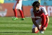 فرشاد احمدزاده بازی با پیکان را از دست داد