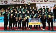 تکرار نائبقهرمانی/ شیردختران اصفهانی سکوی دوم لیگ برتر والیبال را بدست آوردند