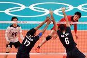 المپیک توکیو  شکست والیبال ایران مقابل ژاپن؛ آرمان والیبال محقق نشد