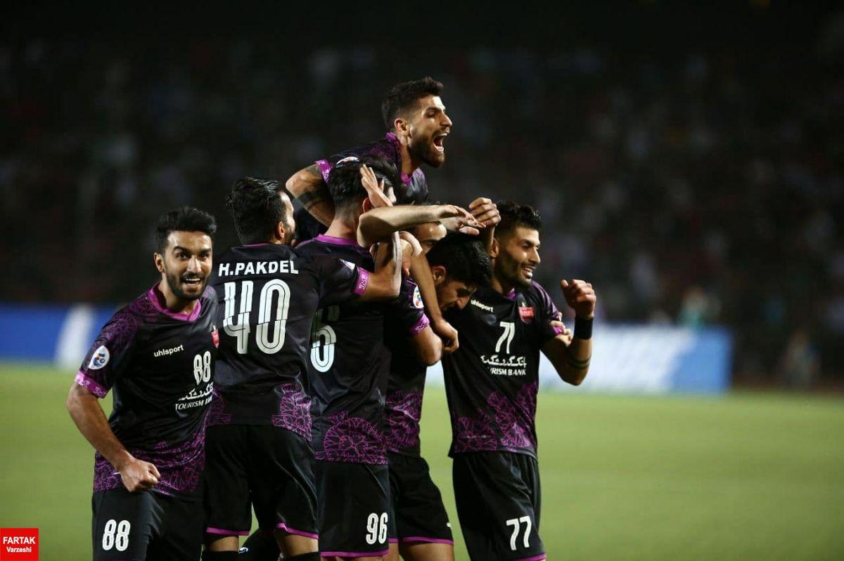 پرسپولیس طلایهدار تیمهای ایرانی در لیگ قهرمانان آسیا