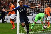 رونمایی از ترکیب تیم های ملی فرانسه و هلند