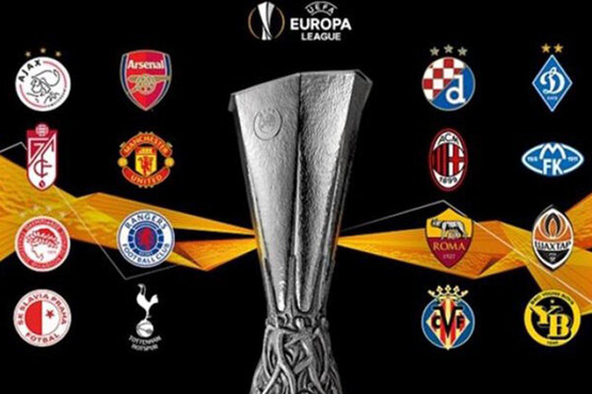 قرعه کشی مرحله یک هشتم نهایی لیگ اروپا انجام شد