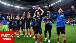 کرواسی؛ضعیف ترین تیمی که توانست به فینال برسد