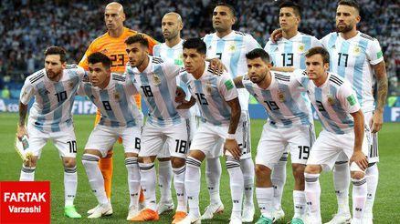 اسامی بازیکنان دعوت شده به تیم ملی آرژانتین برای کوپا آمریکا
