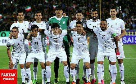 تیم ملی ایران؛ یک استثنا در فهرست 25 تیم برتر فیفا