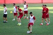 گزارش تمرین پرسپولیس  تاکید گلمحمدی بر انجام صحیح تاکتیکهای تیمی