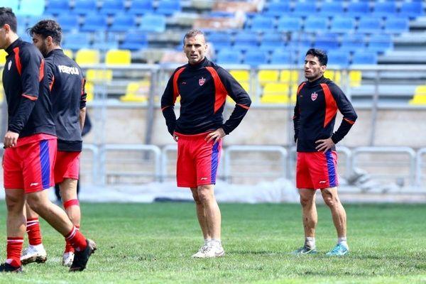 حرص و جوش سید جلال در تمرین امروز سرخ ها