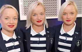 یک دوی ماراتن شاید تکرار نشدنی!حضور این سه خواهر سه قلو!