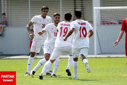 برتری جوانان ایران مقابل ارمنستان
