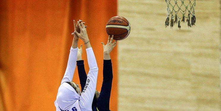 دیدار کادر فنی تیم ملی بسکتبال 5 نفره بانوان با طباطبایی