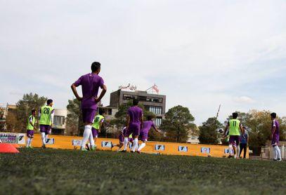گزارش تصویری: تمرینات تیم آرمان گهر سیرجان