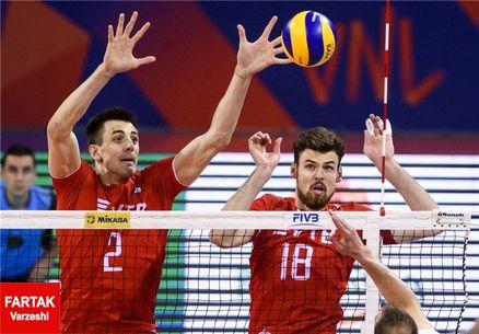 اعلام برنامه بازی های ایران در هفته چهارم لیگ ملت های والیبال