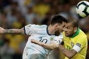 دفاع تمام قد ستاره تیم ملی برزیل از لیونل مسی
