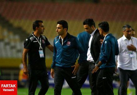 مربی نساجی: برای ما که تازه به لیگ برتر صعود کردهایم هضم اشتباهات داوری دشوار است