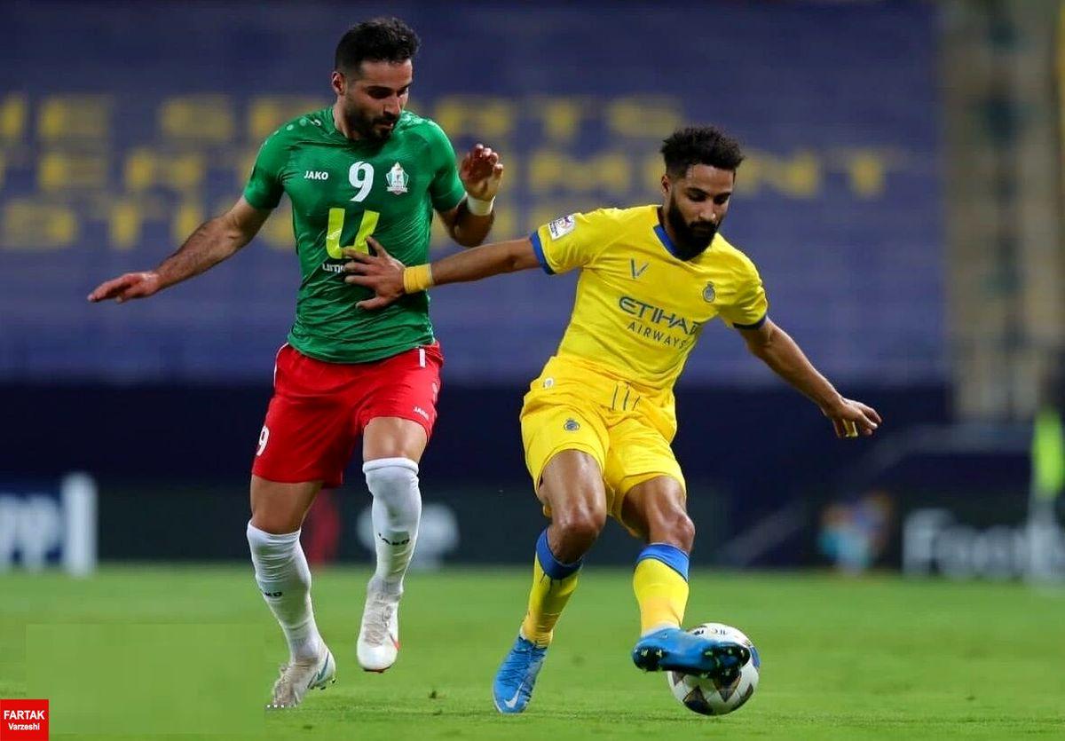 حمله کرونا به النصر قبل از بازی با فولاد