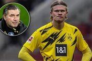 واکنش مدیر دورتموند به انتقال هالند به بارسلونا