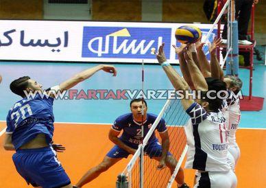 اختصاصی/ گزارش تصویری از دیدار والیبال شهرداری ورامین و پیکان تهران