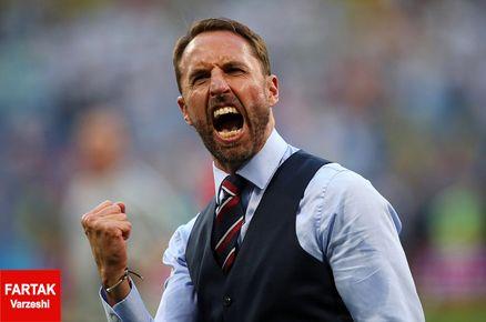 عکس   محبوبیت بالای سرمربی جوان تیم ملی انگلیس