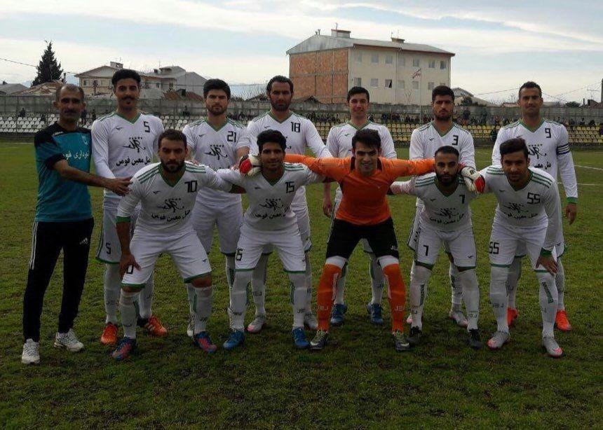 پیروزی شهرداری فومن برابر حریف لیگ برتری