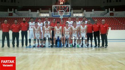 ایران قهرمان مسابقات بسکتبال جوانان غرب آسیا شد