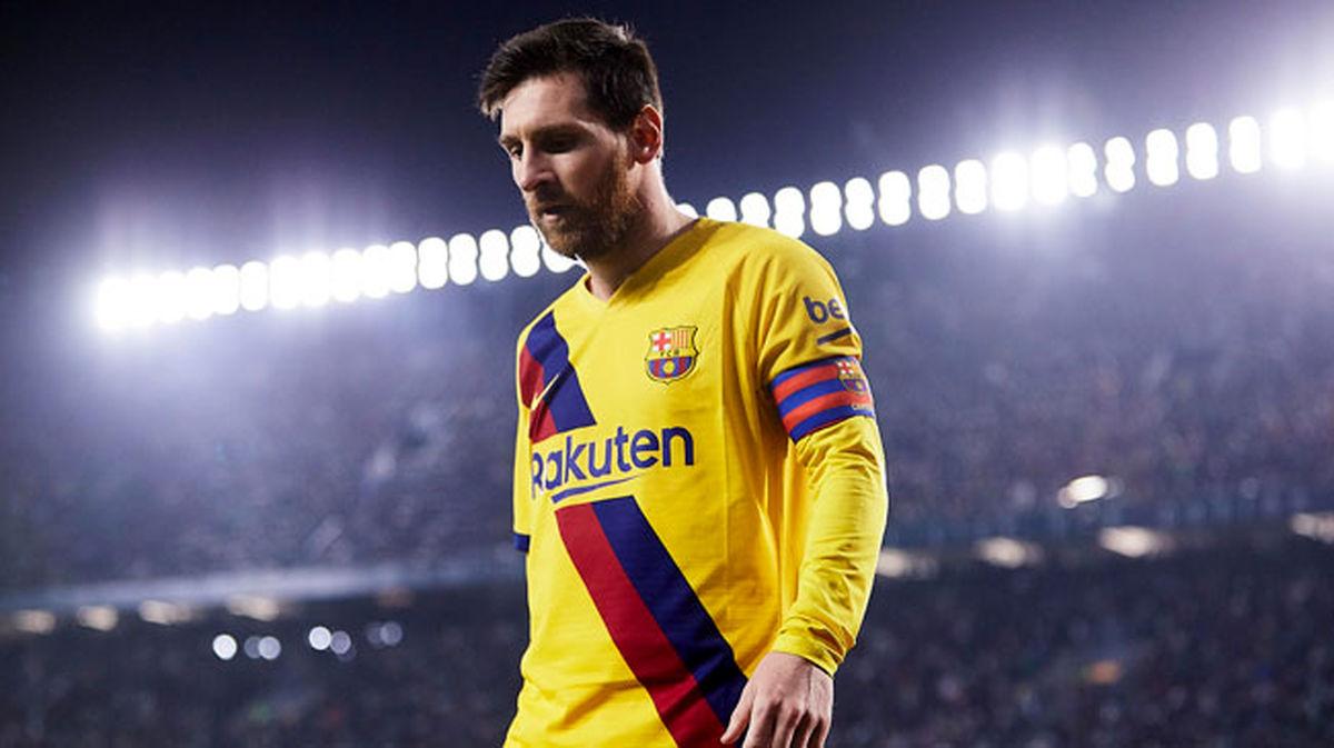 مسی به تمرینات بارسلونا برگشت