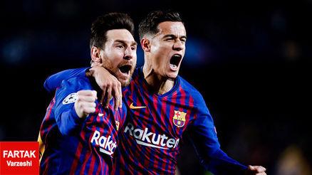 بارسلونا 3_0 منچستر یونایتد؛ جهنم نیوکمپ شیاطین سرخ را بلعید