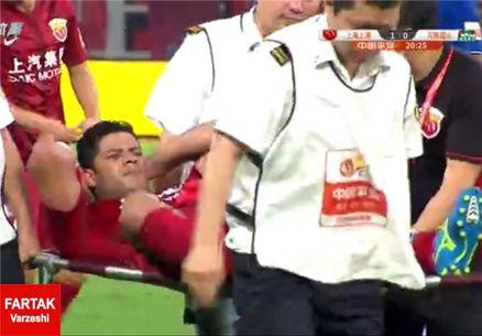 هالک،دومین بازیکن پر درآمد دنیای فوتبال،در اولین بازی مصدوم شد!
