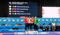 نخستین مدال طلای کاراته ایران در المپیک جوانان
