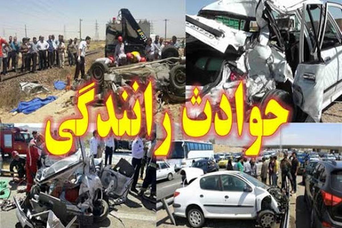 تصادف بسیار وحشتناک در تهران + عکس+18