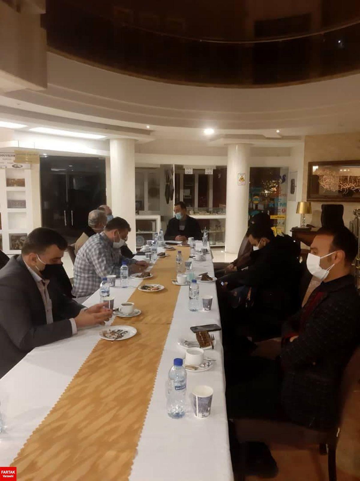 برگزاری جلسه هماهنگی دیدار ذوب آهن و شهرخودرو