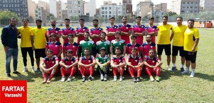 اعضای کادر تیم فوتبال شهرداری بم در فصل جاری مشخص شدند
