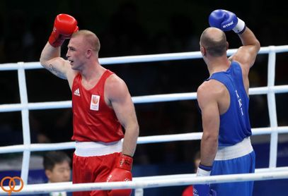 گزارش تصویری : المپیک ۲۰۱۶ / مسابقه بوکس احسان روزبهانی