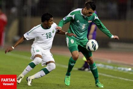 عربستان با دو پنالتی مقابل عراق به پیروزی رسید