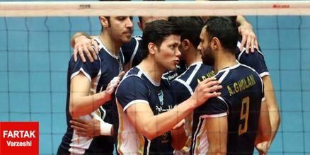 صعود مقتدرانه بانک سرمایه در مسابقات والیبال قهرمانی باشگاههای آسیا