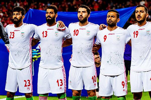اعلام اسامی بازیکنان تیم ملی فوتبال ایران