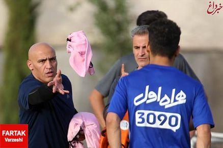 نیمکت استقلال نیاز به ترمیم دارد / آقای منصوریان سریع تر چاره ای بیندیشید