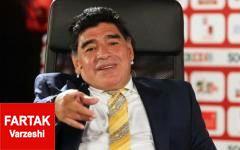 مارادونا: دستمزد مورینیو را نمی خواهم، حاضرم مجانی کار کنم!