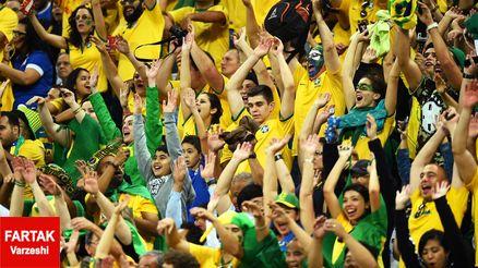 درخواست عجیب هواداران برزیل از تیم ملی کشورشان؛ اجازه دهید شیلی پیروز شود