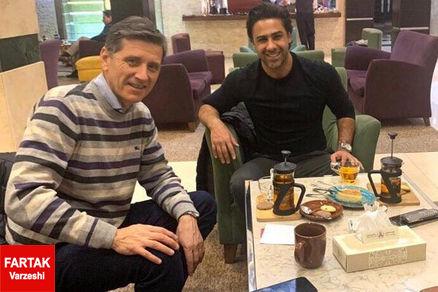 دستیار فرهاد وارد تهران شد!