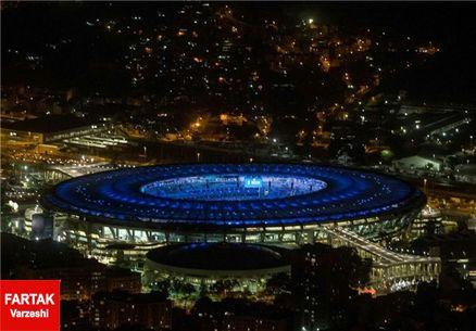 آغاز مراسم افتتاحیه المپیک