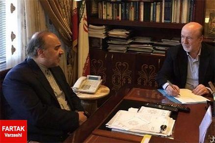مدیرعامل باشگاه استقلال تهران به ملاقات وزیر ورزش می رود