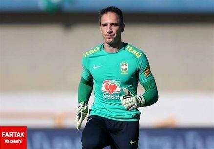دروازهبان تیم فوتبال برزیل، المپیک را از دست داد